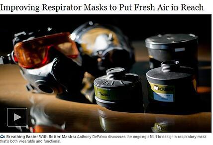 NYTimes Improving Respirator